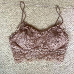 Tops - Lace Crop Top